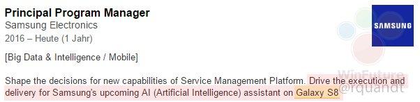 Bixby job listing