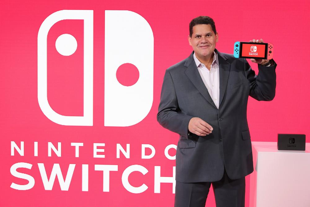 Nintendo of America president Reggie Fils-Aimé