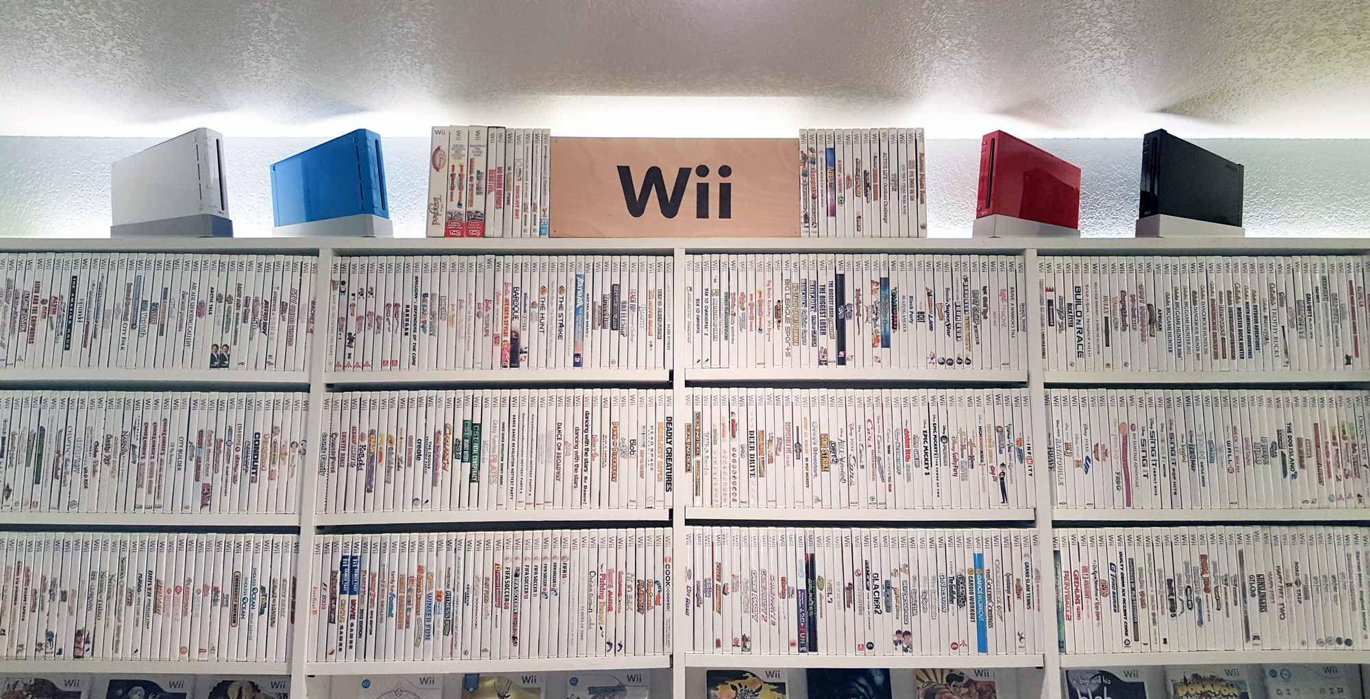 Wii game collection - Canadian mobile stories