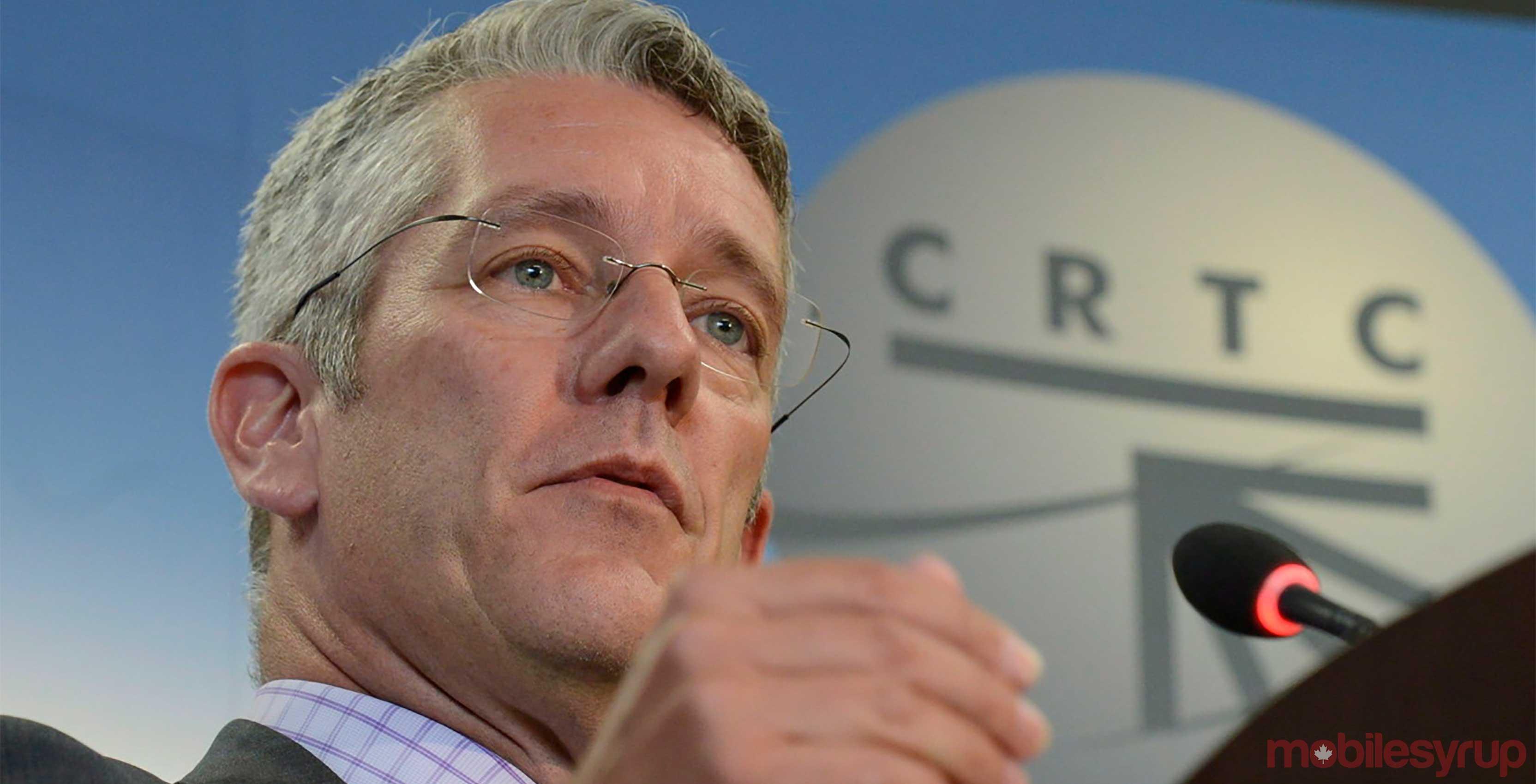 CRTC Chairman Jean-Pierre Blais - electronic spam