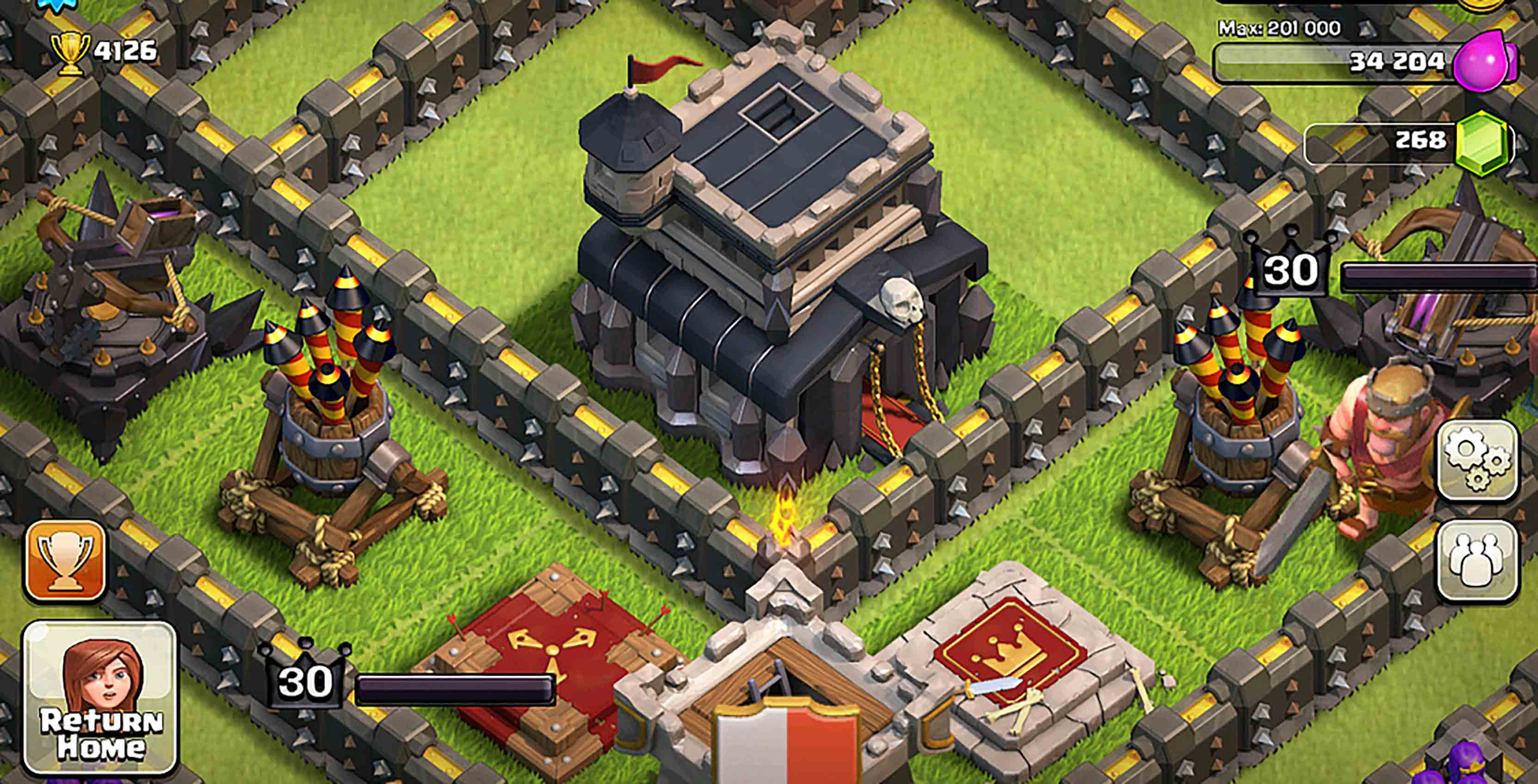 Clash of Clans game screenshot