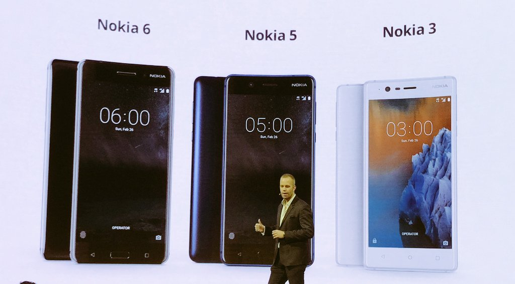 Screenshot of Nokia MWC press conference