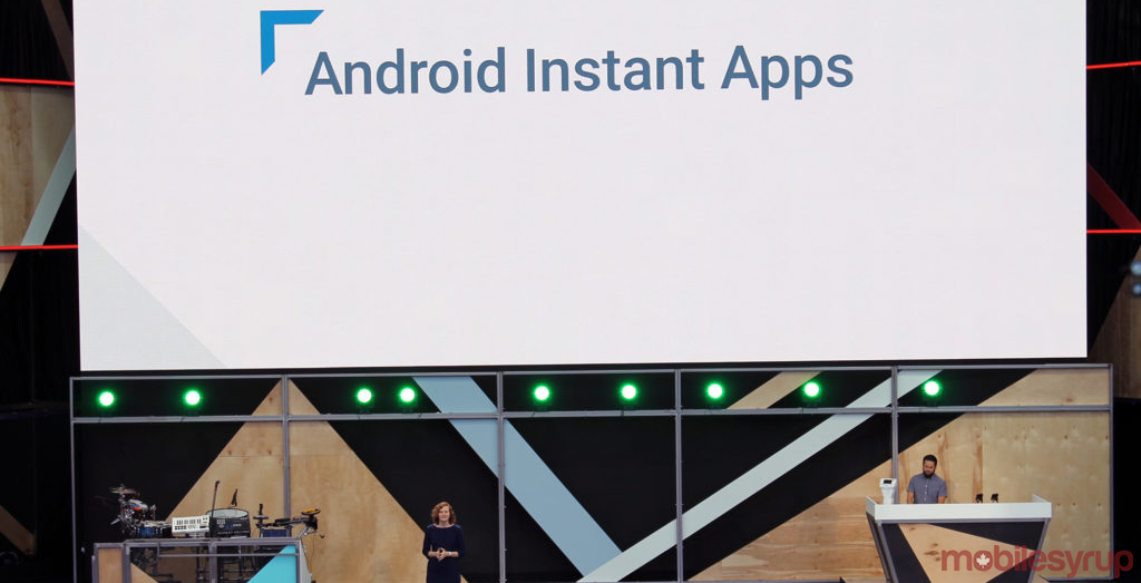 Android Instant Apps at Google I/O 2016