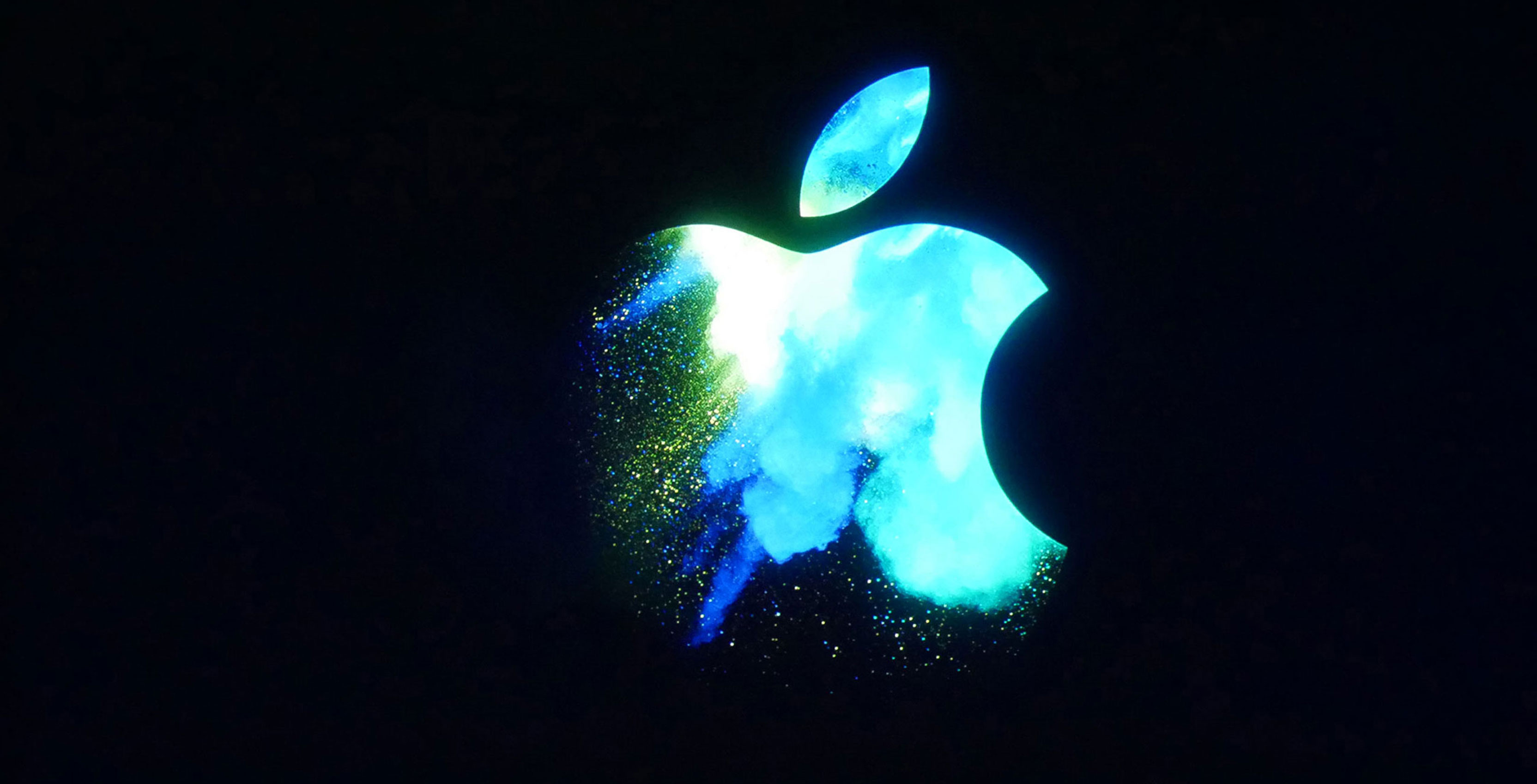 apple logo - ios 10.3