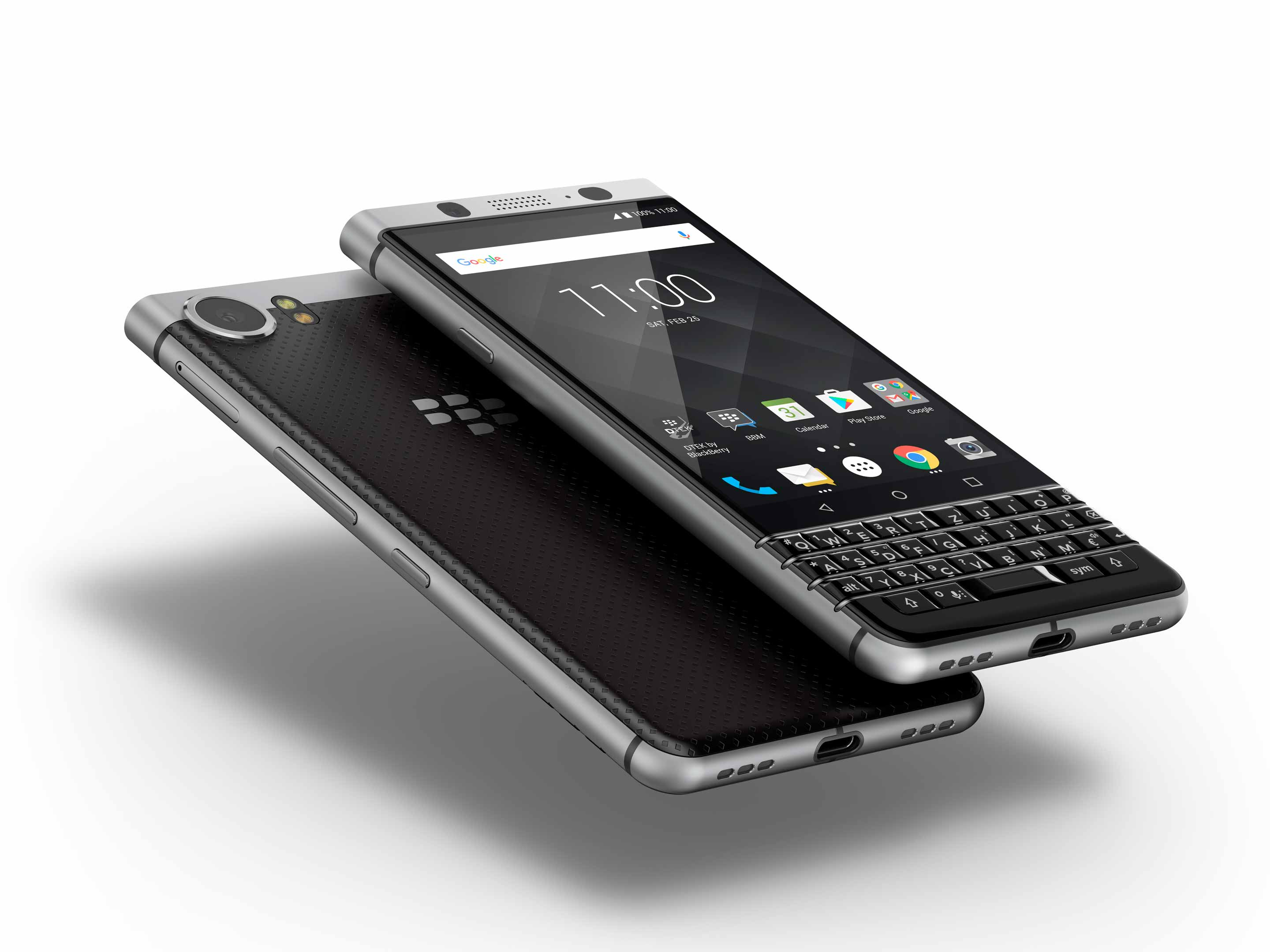 BlackBerry Keyone front and back