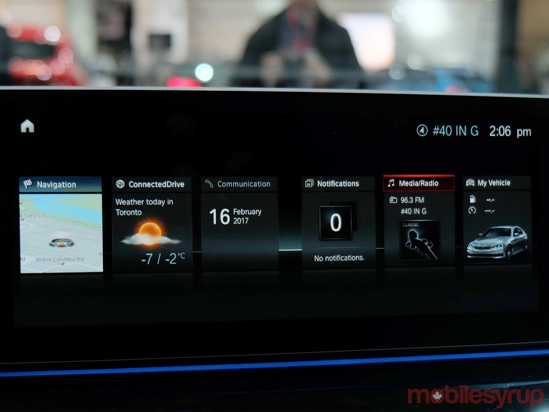 BMW's new idrive infotainment sytem