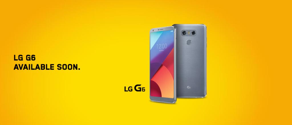 LG G6 videotron
