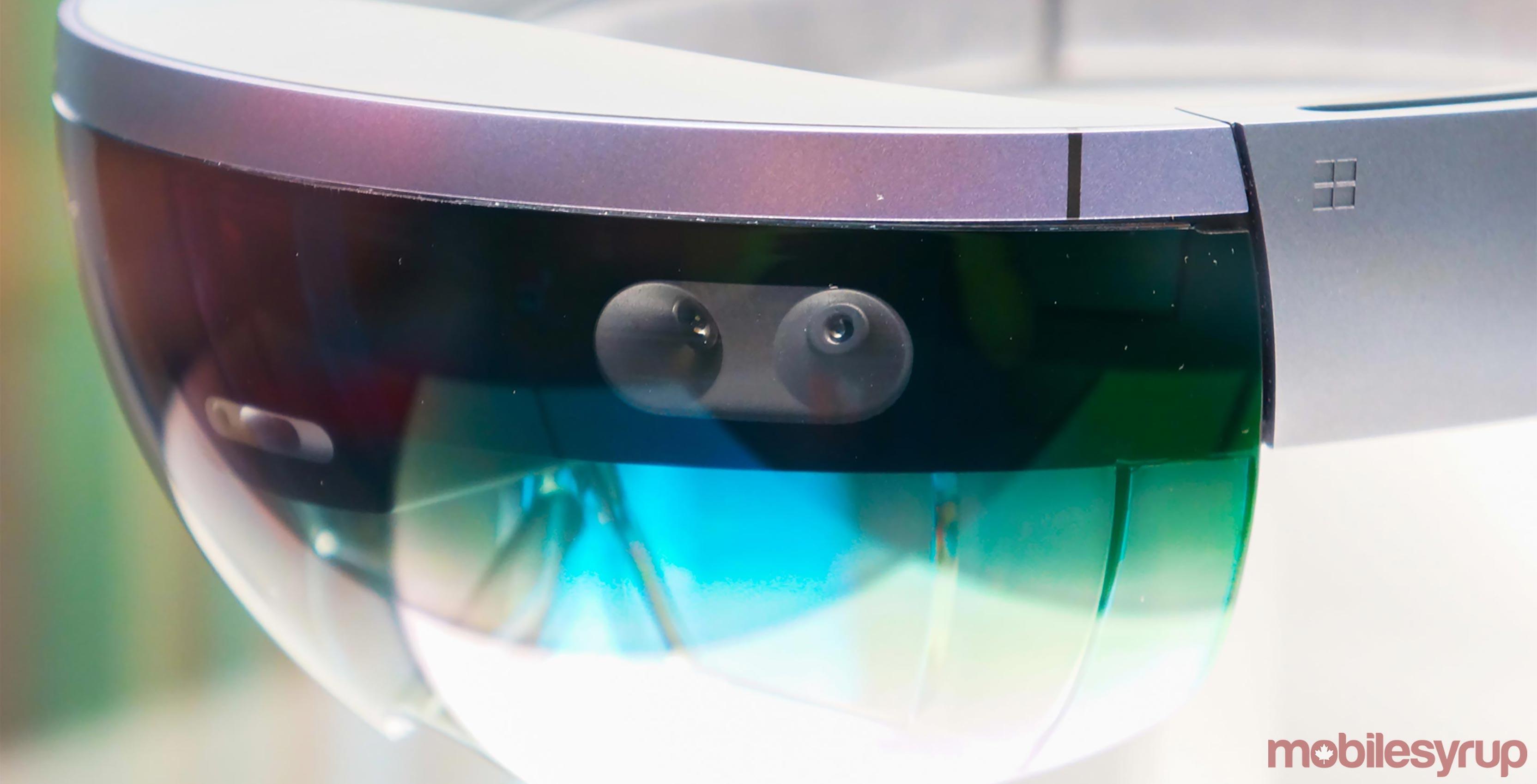 Photo of Microsoft's HoloLens AR headset