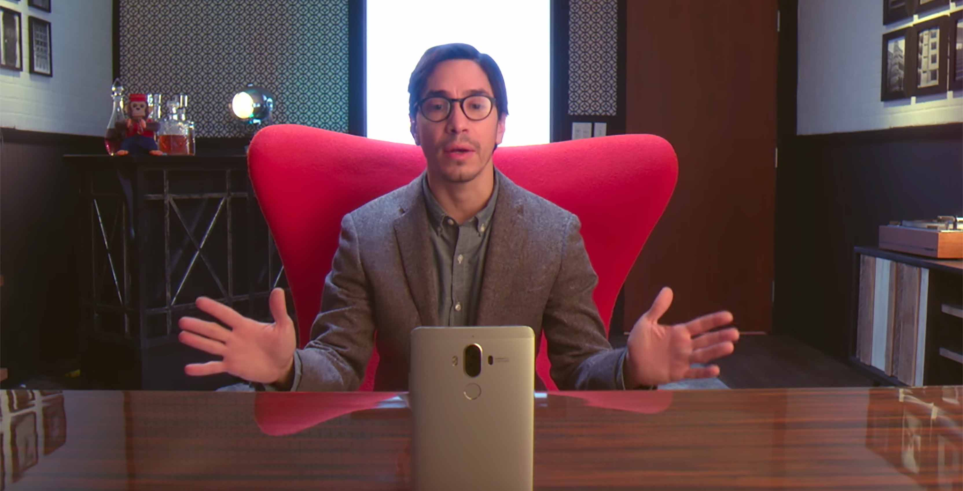 huawei mate 9 justin long commercial