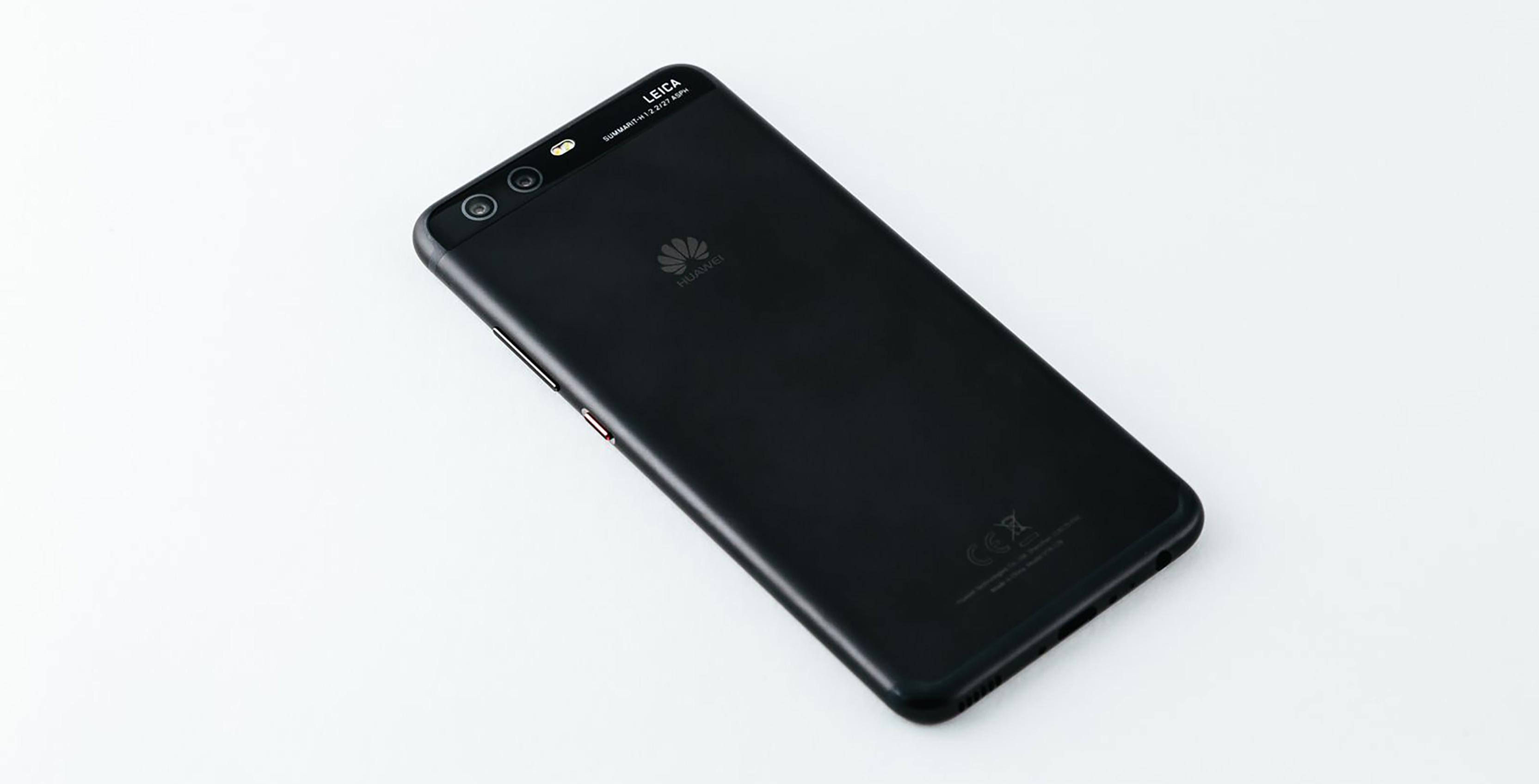 Back of Huawei P10 smartphone