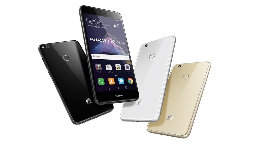 Huawei P8 Lite group shot