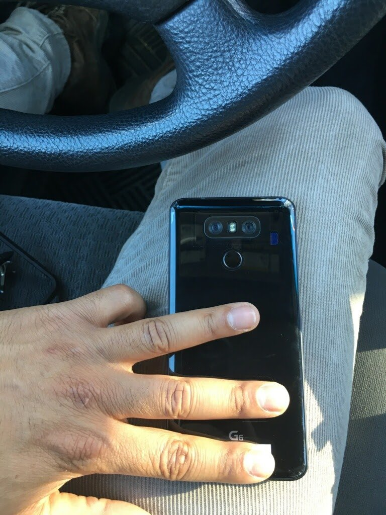 LG G6 from the back