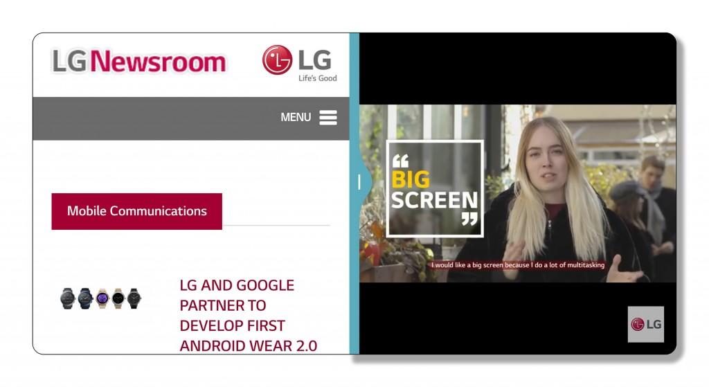 LG G6 UX 6.0 user interface
