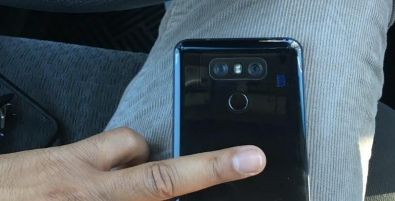 LG G6 leaked showing finger print sensor