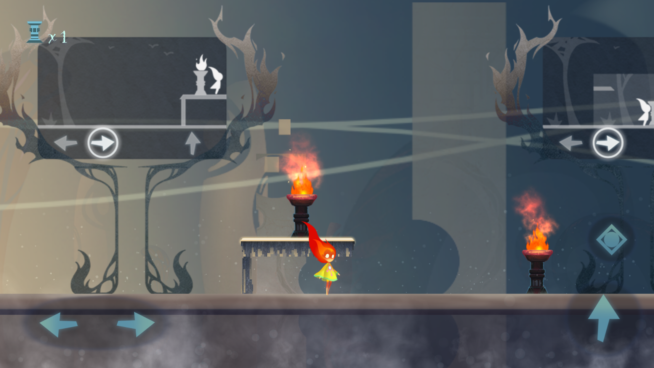 Screenshot of Lit the Torch for iOS
