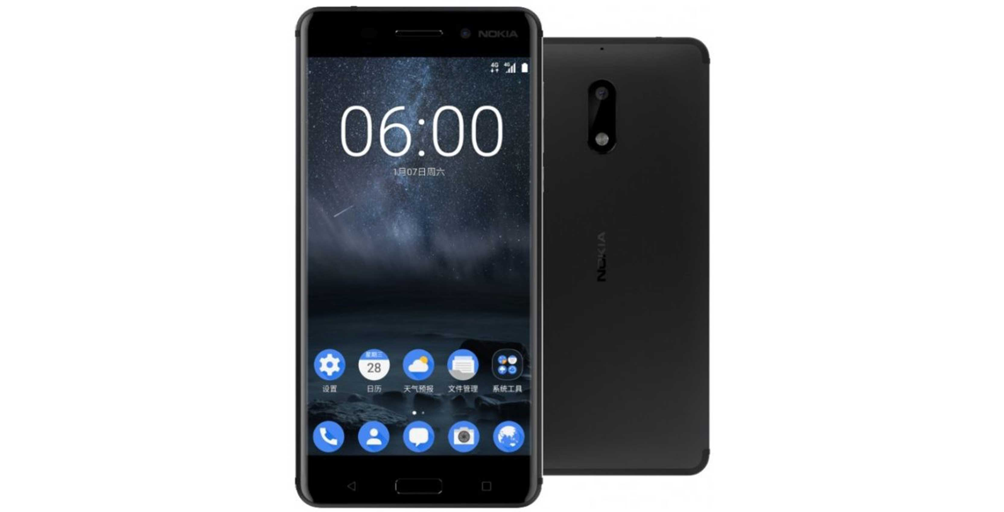 Press render of the Nokia 6