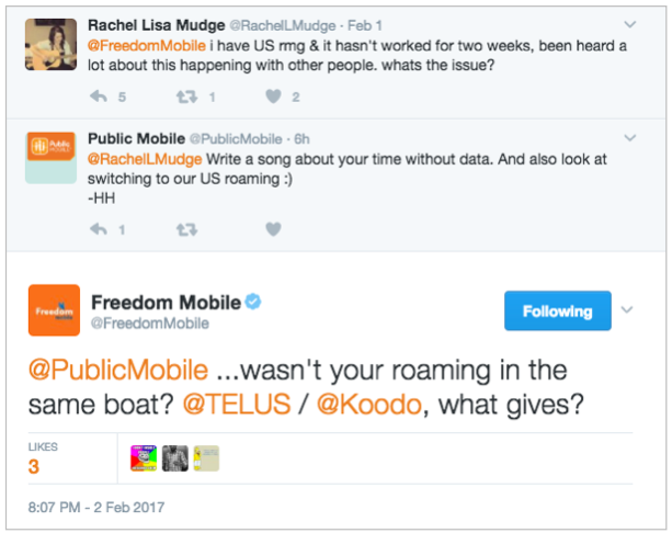 Public Mobile and Freedom Mobile snapping off