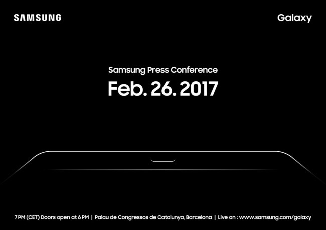 samsung galaxy s8 video teaser mwc presentation invite