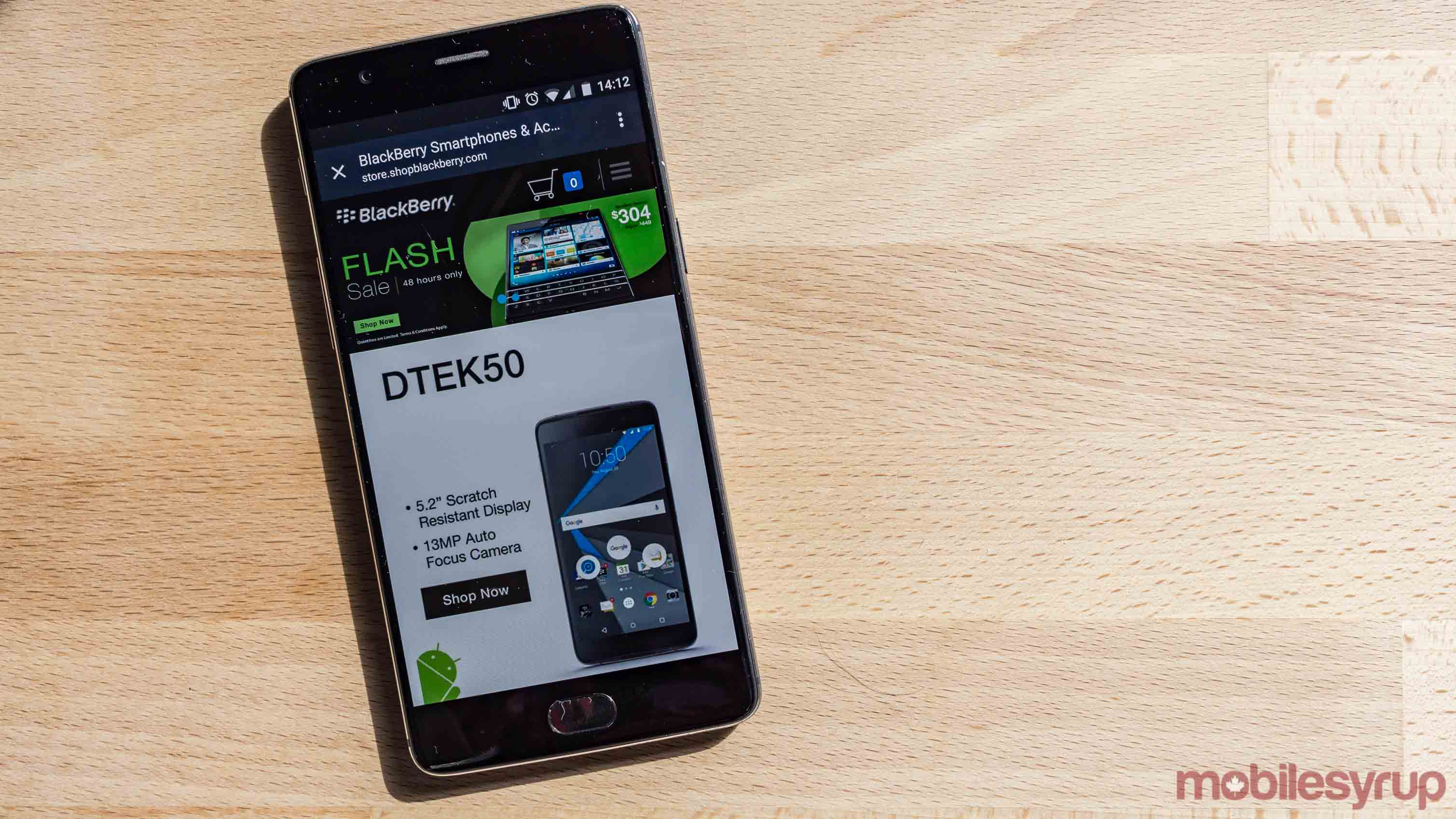 Shop BlackBerry mobile website - BlackBerry discounts DTEK 60 DTEK 50