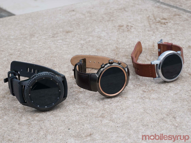 Zenwatch 3 Moto 360 2nd Gen and Gear S3