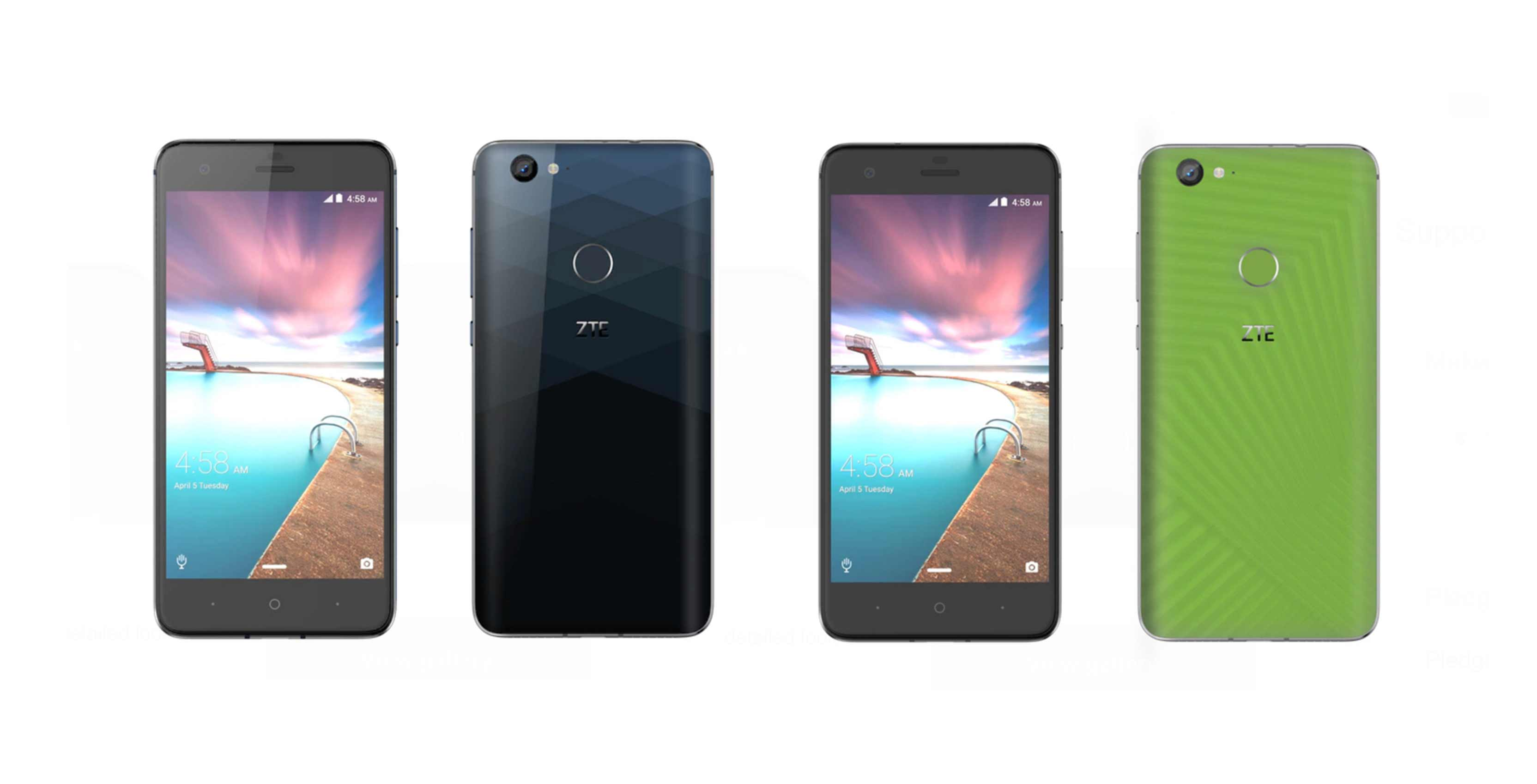 zte project hawkeye phones front and backs