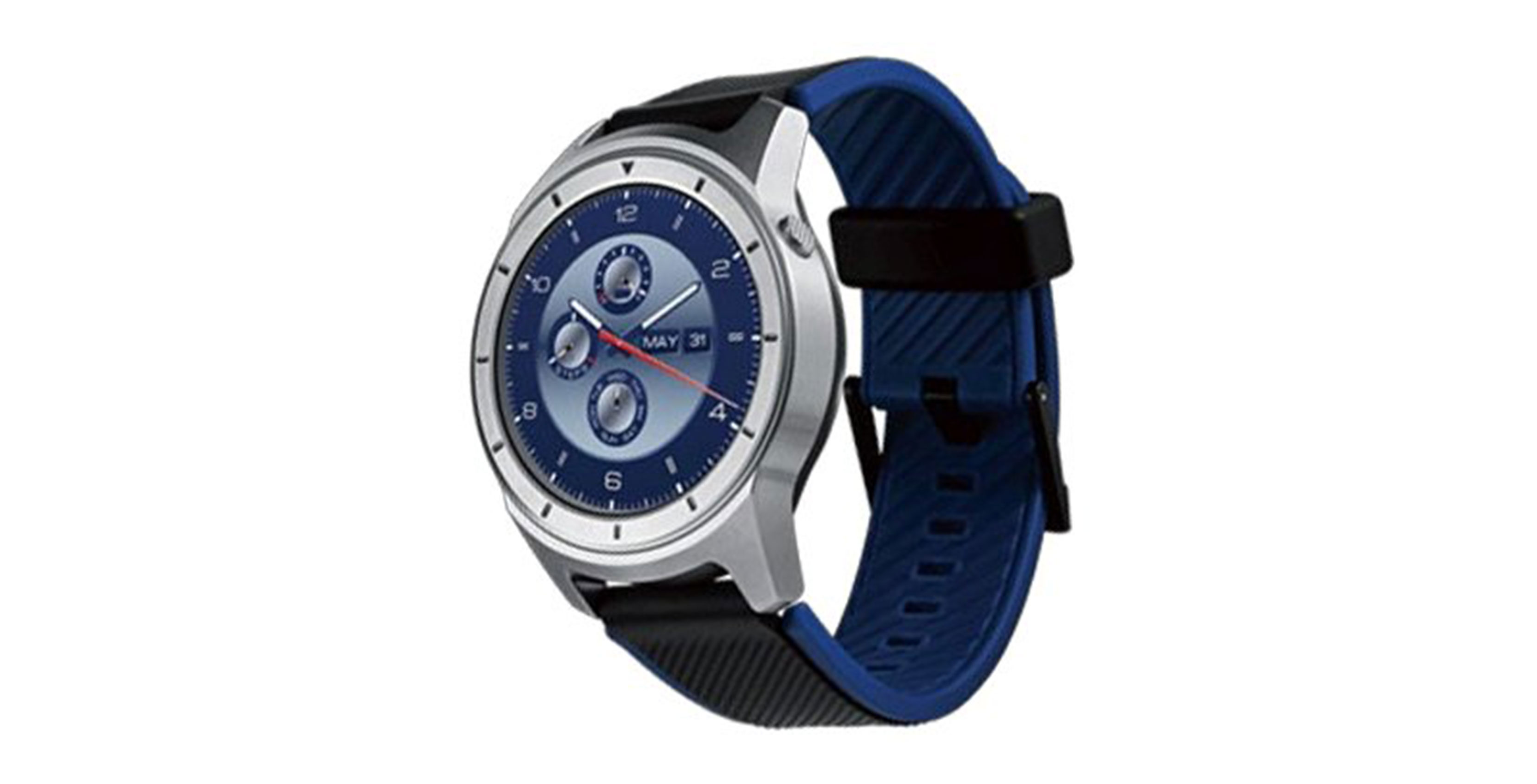 zte quartz smartwatch front