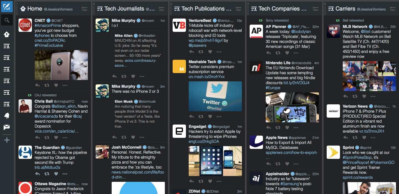 Tweetdeck on Macbook