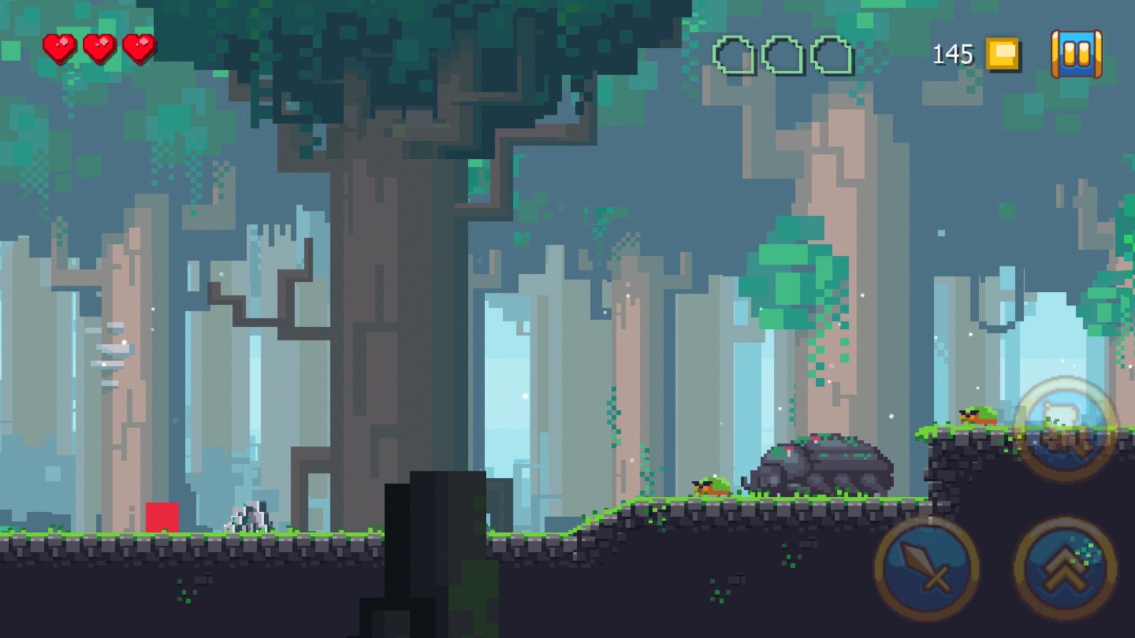 screenshot of Adventure of Pip