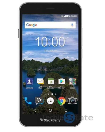 BlackBerry Aurora leaked press render