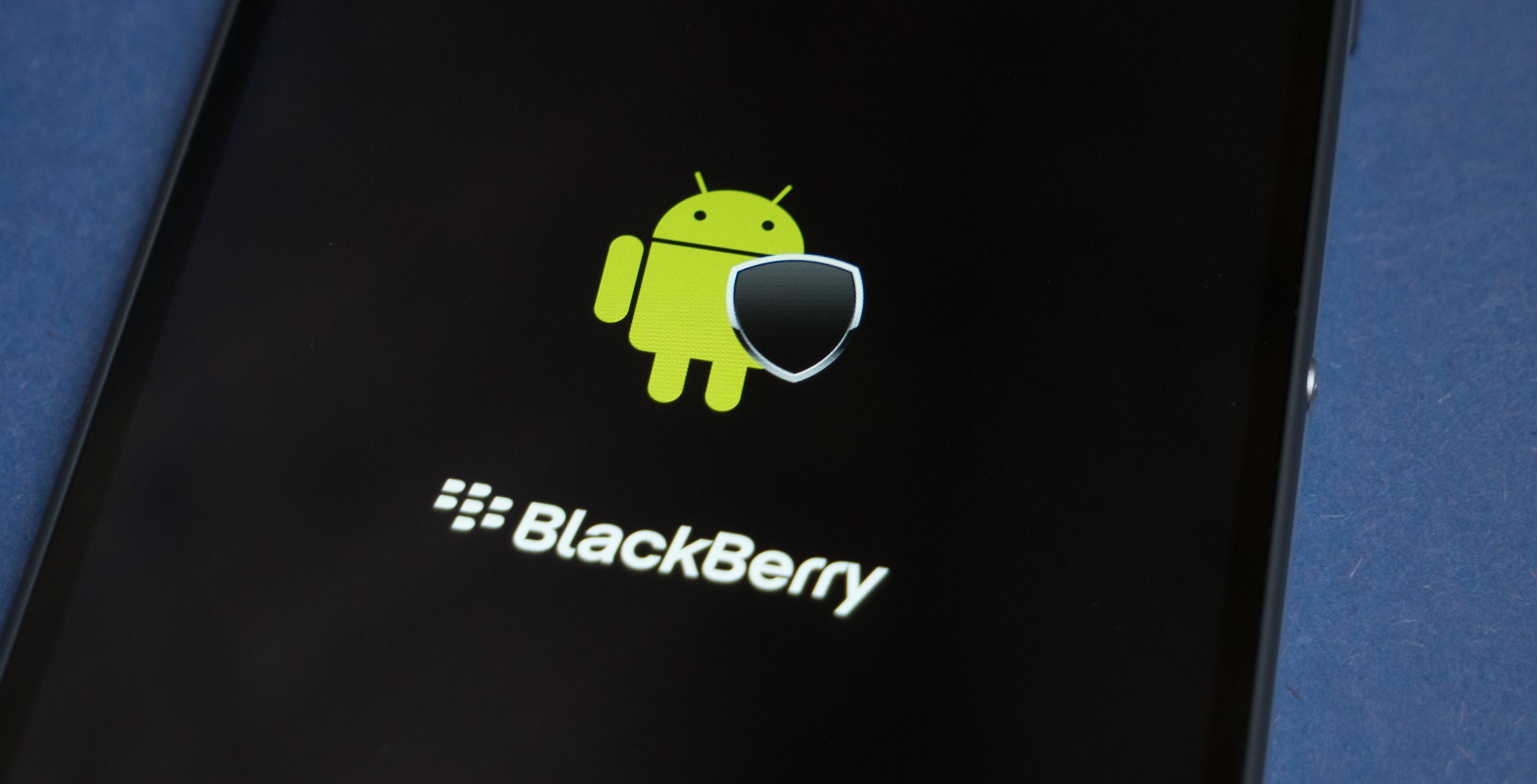 BlackBerry Secure Android logo