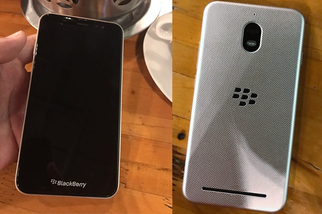 New BlackBerry Merah Putih smartphone