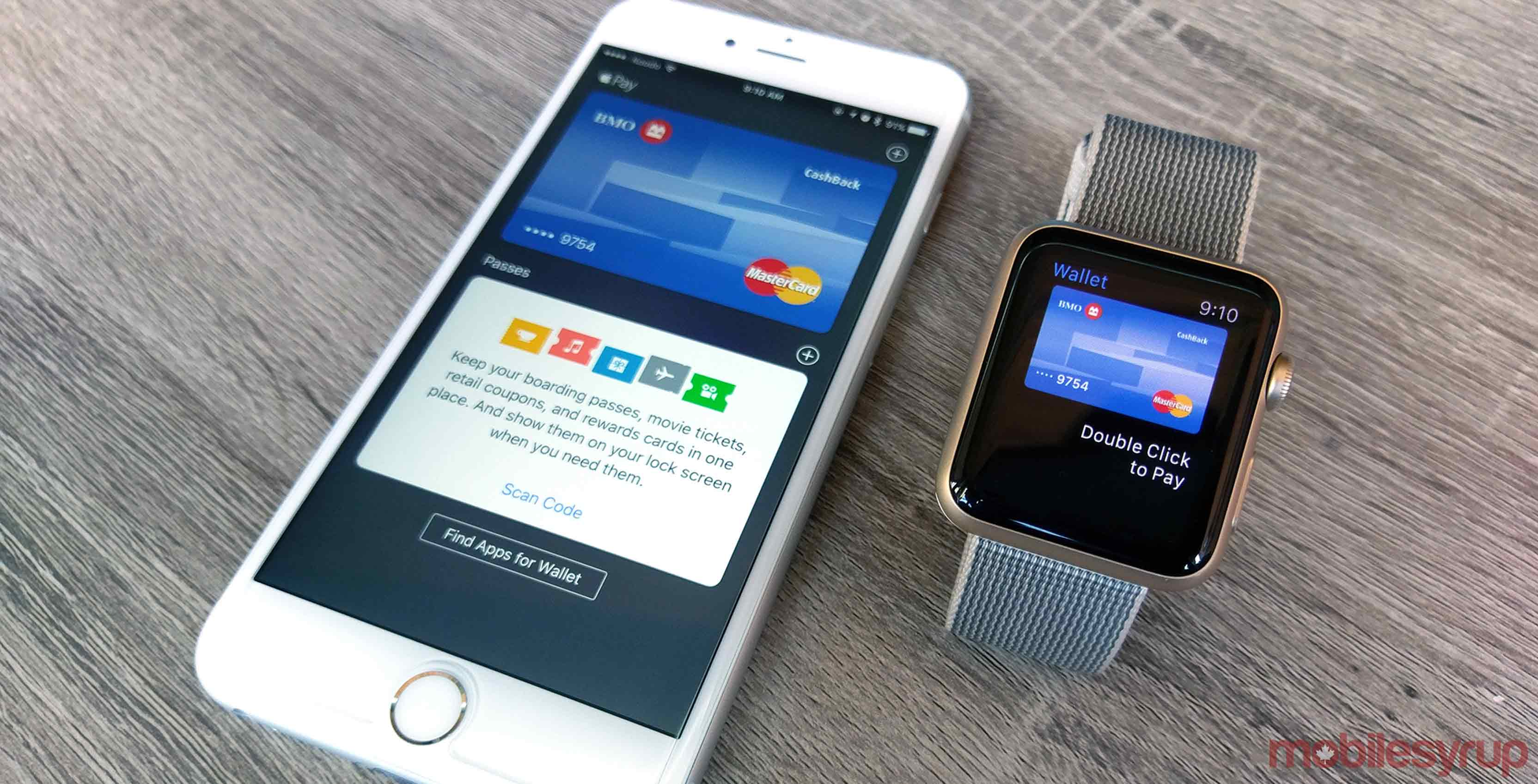 BMO Bank of Montreal card in Apple Pay