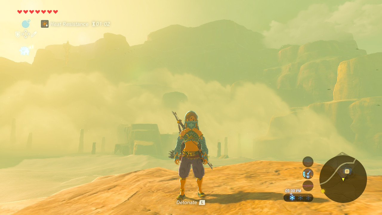 standing on the edge of a clif screenshot