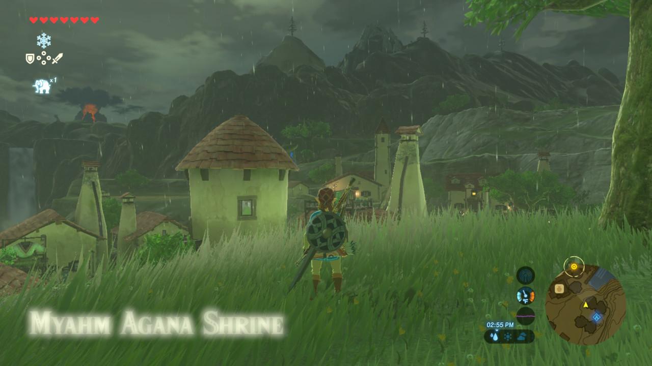 Stormy night screenshot