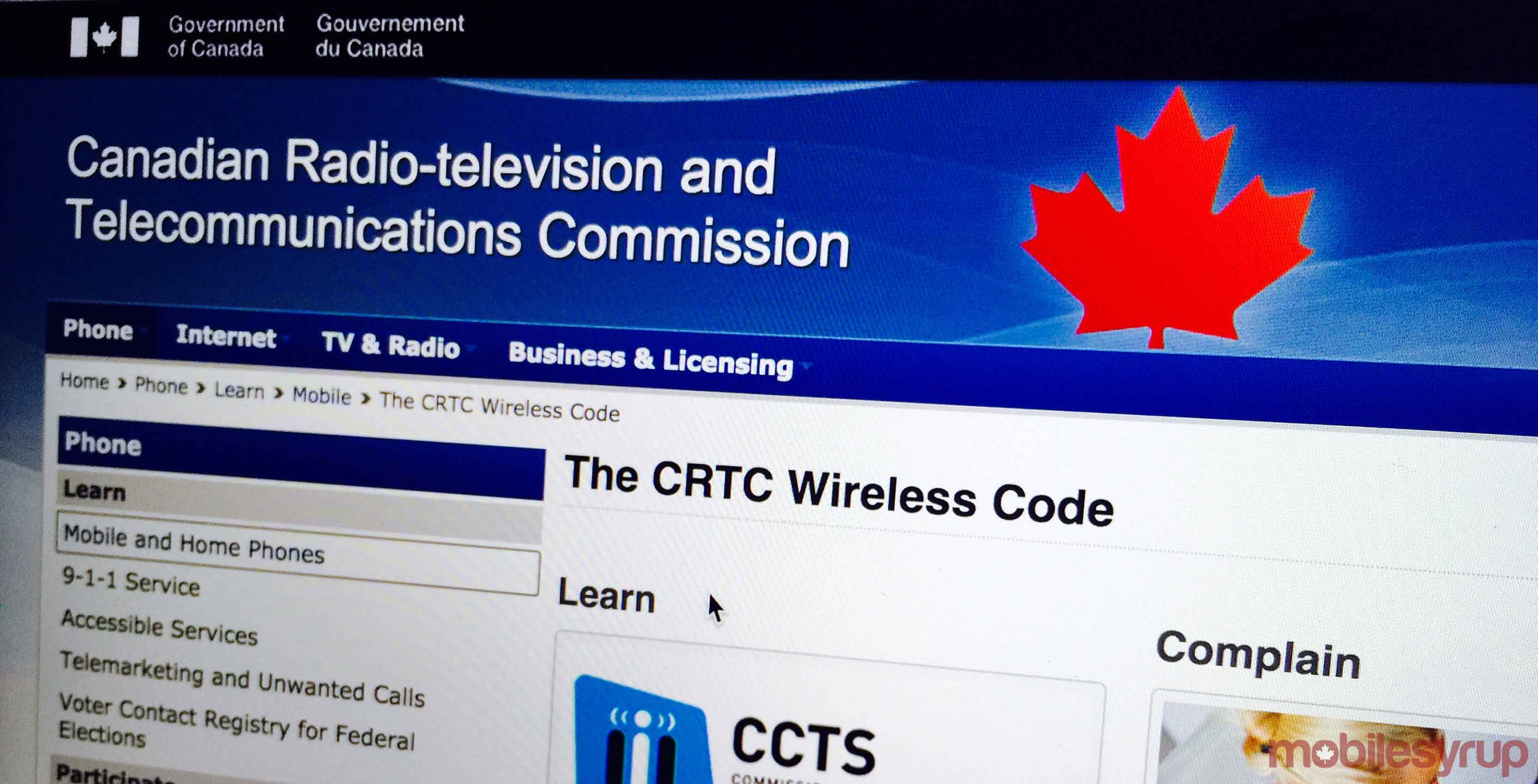 CRTC website - consumers should negotiate lower prices