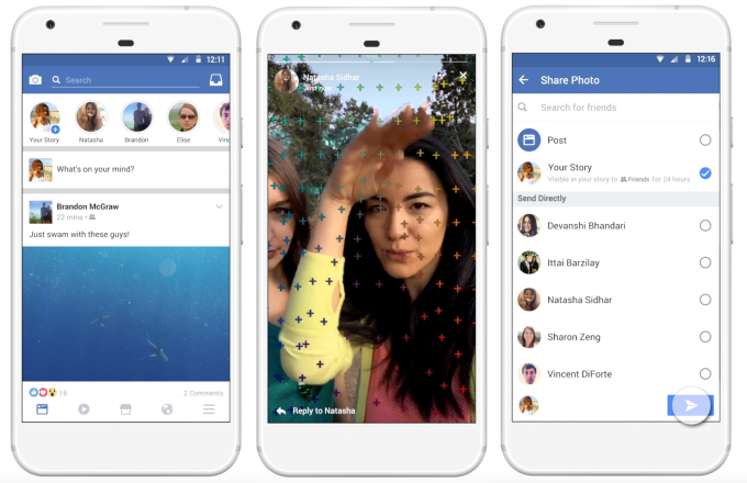 Facebook Stories rolling out