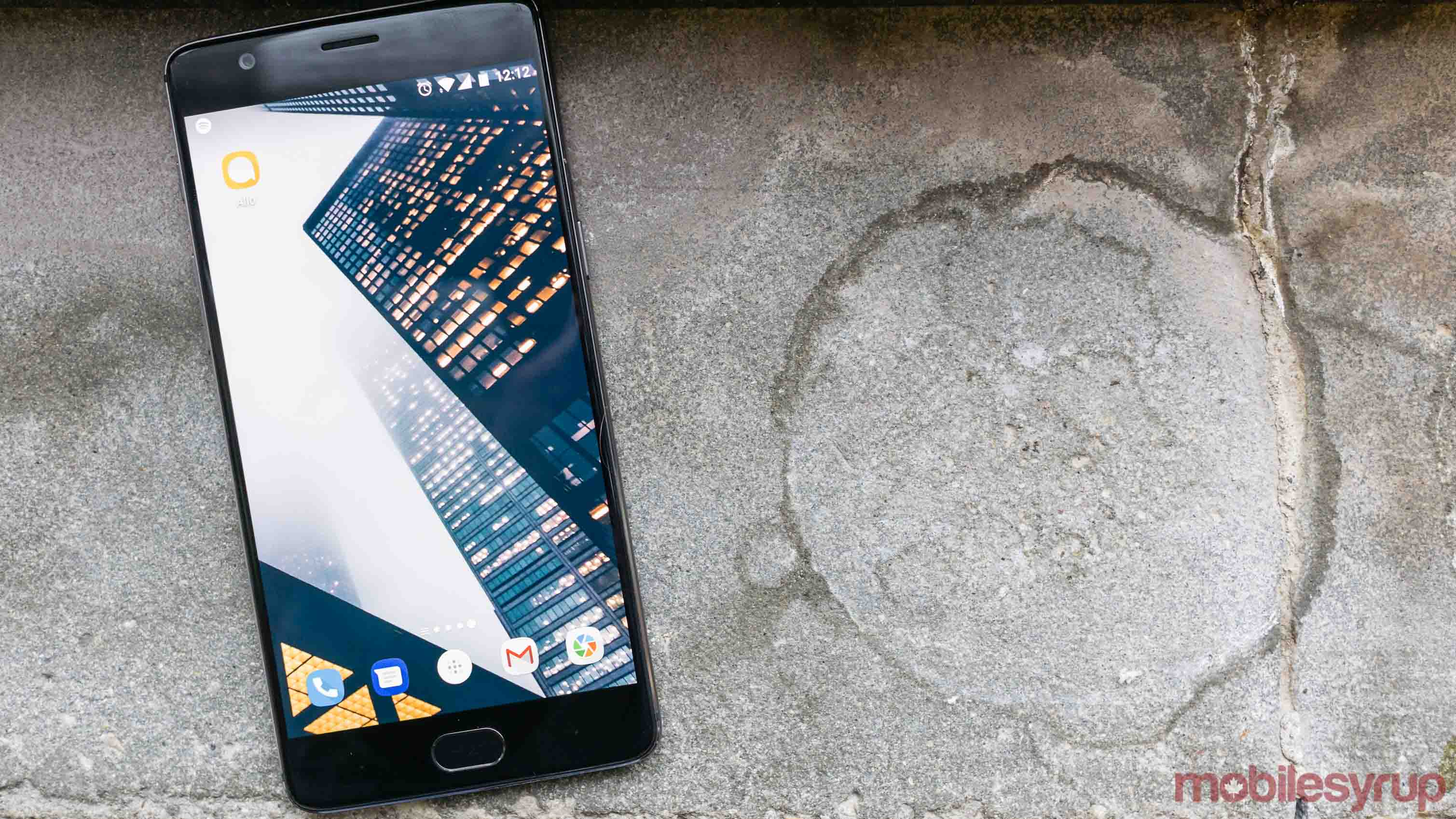Google Allo update on OnePlus smartphone