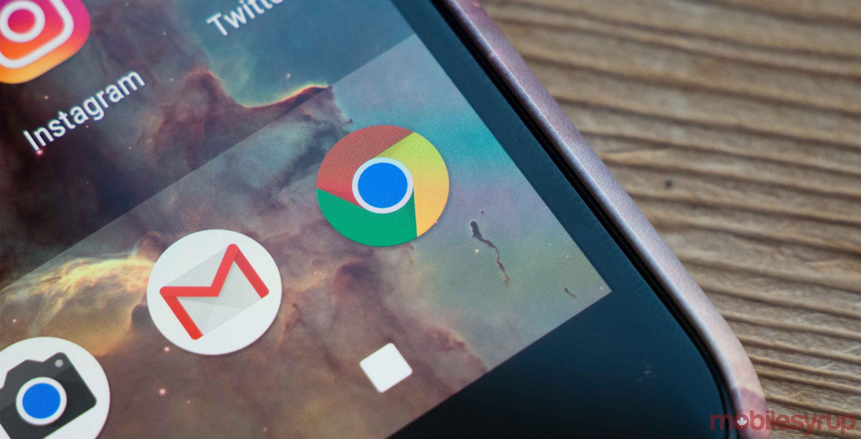 Google Chrome on smartphone - Chrome power usage