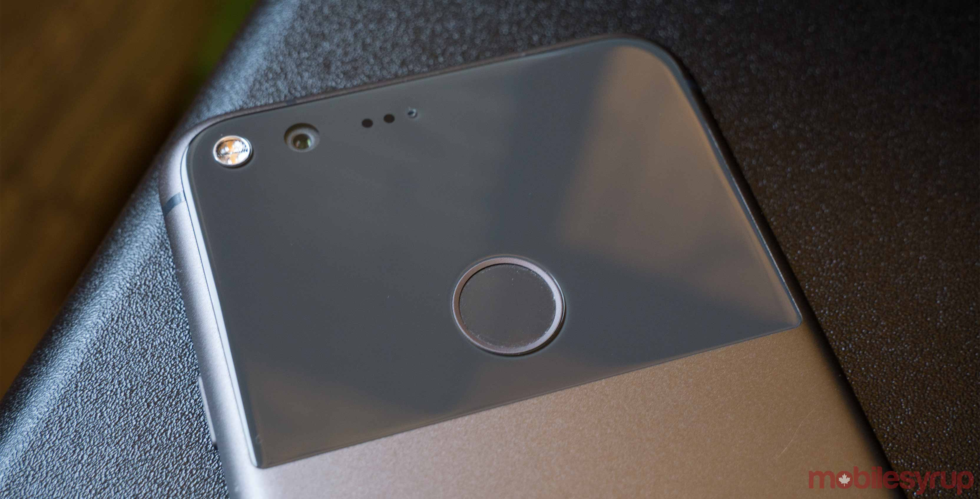 Google Pixel back - android security