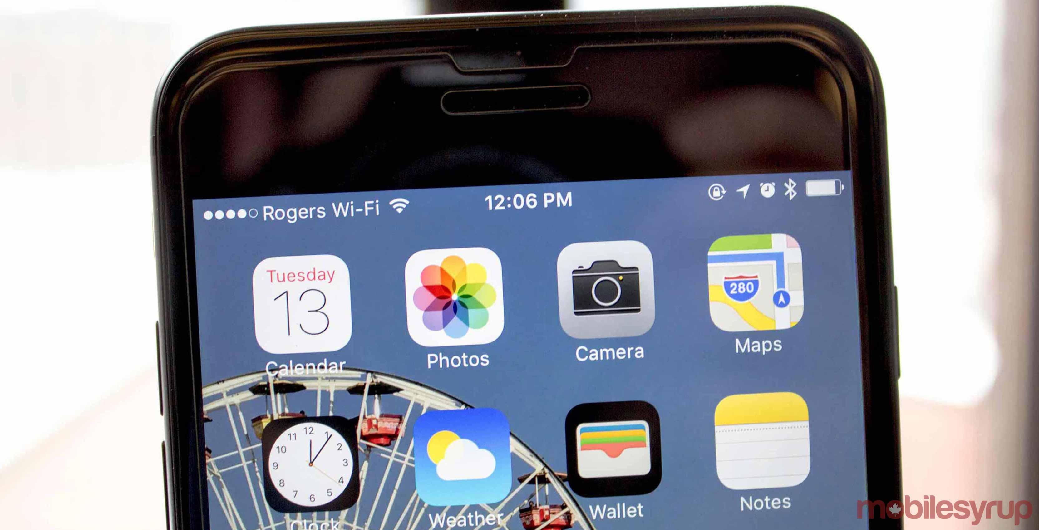 Phone Screen Wi-Fi - fastest internet in Canada