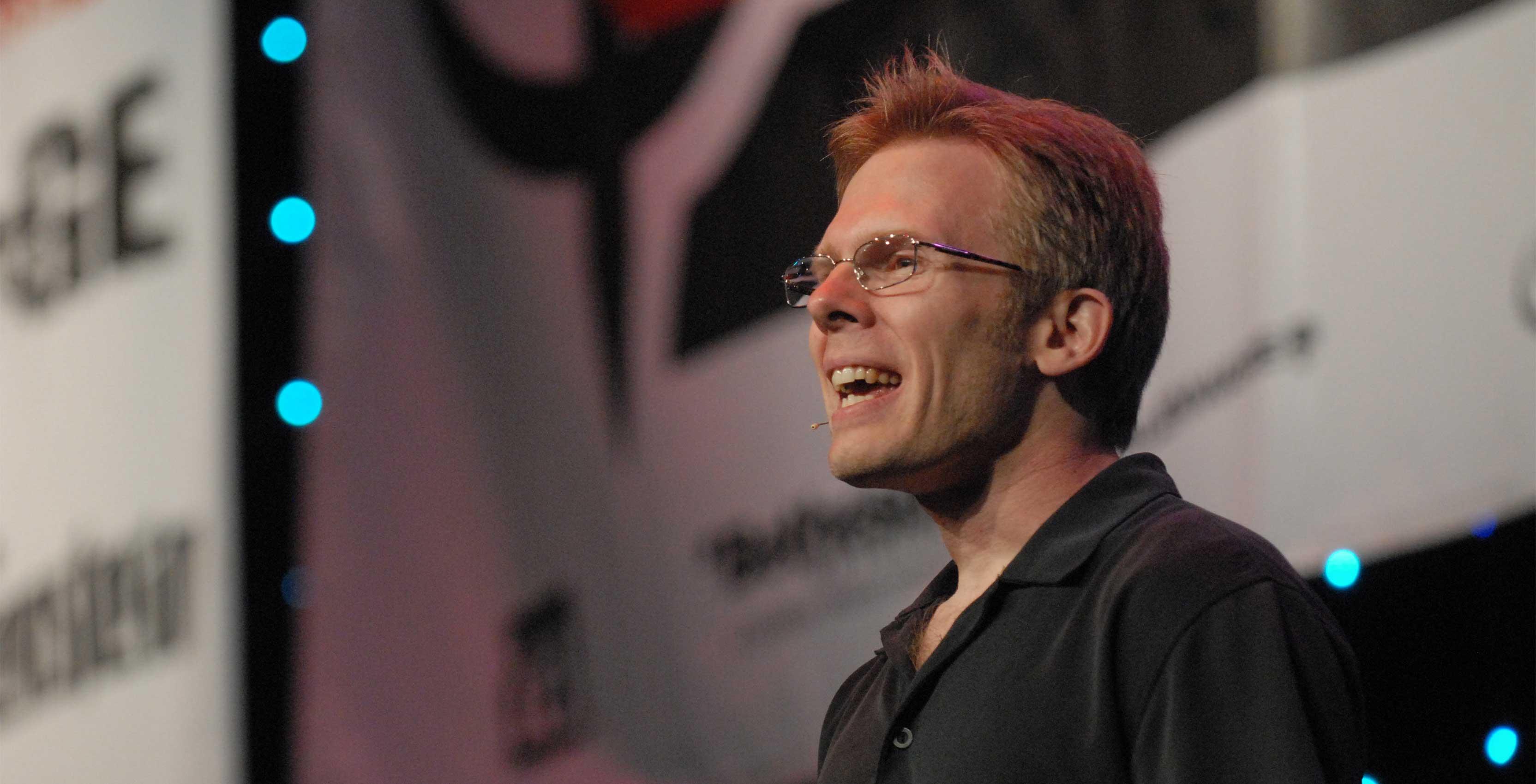 John Carmack at QuakeCon - Oculus Rift sues Zenimax