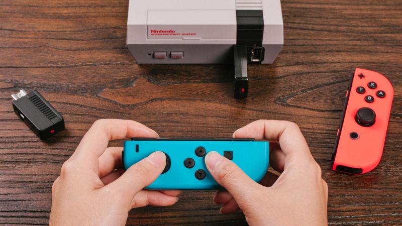 Nintendo Switch Joy-cons work with NES Classic