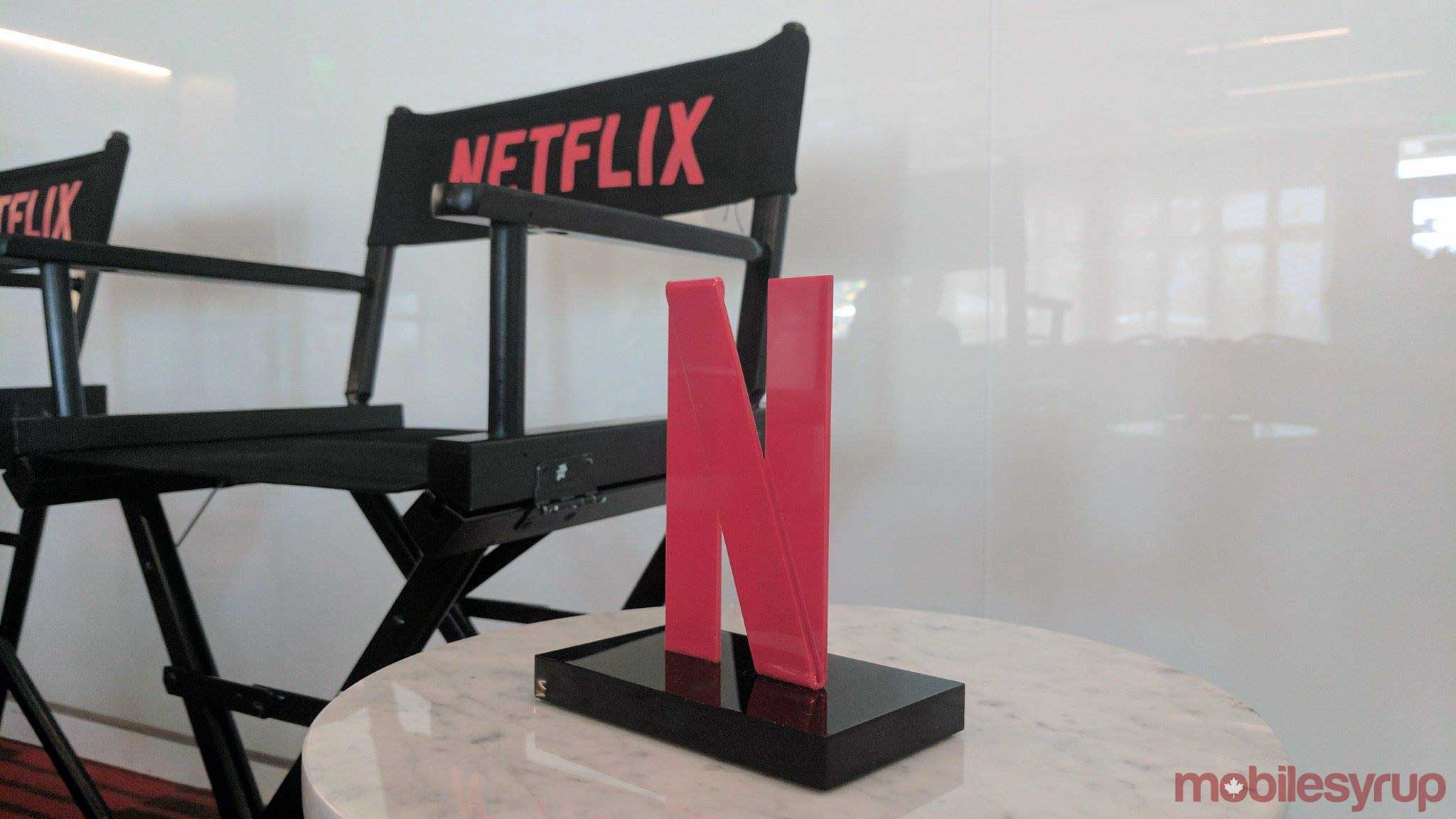 netflix n and directors chair - netflix peak streaming day