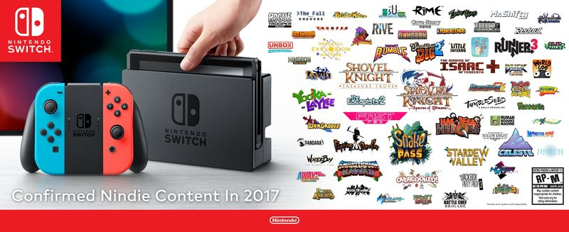 Nintendo Switch indie lineup