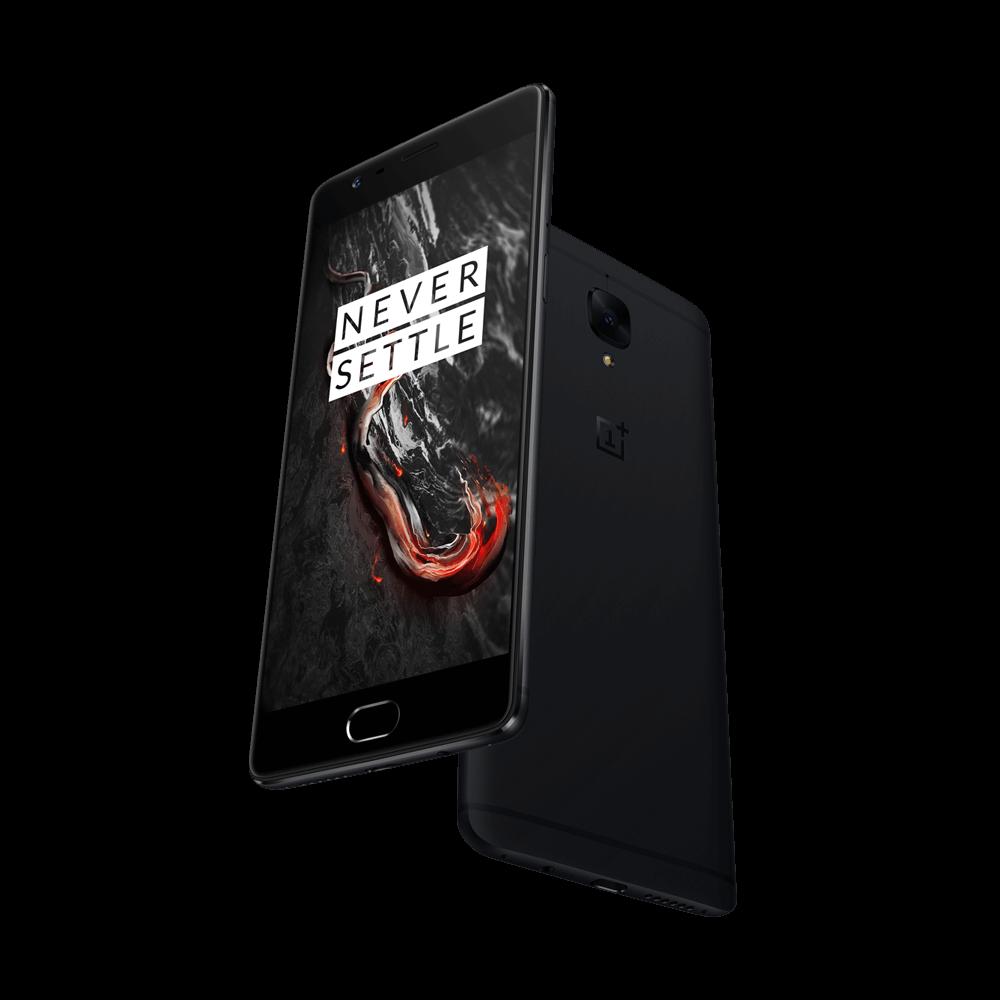 OnePlus 3T in Midnight Black