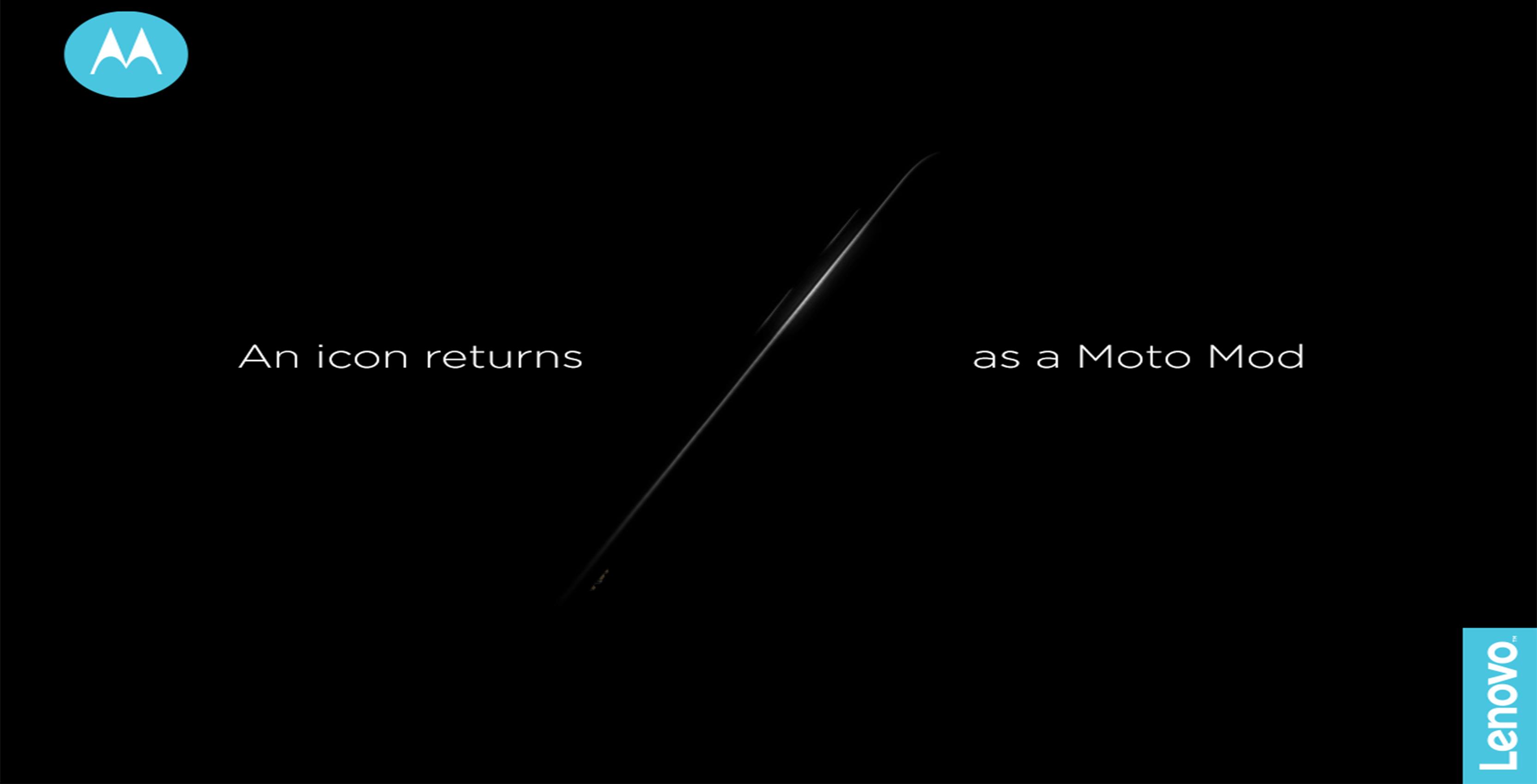 Razr Moto Mod teaser