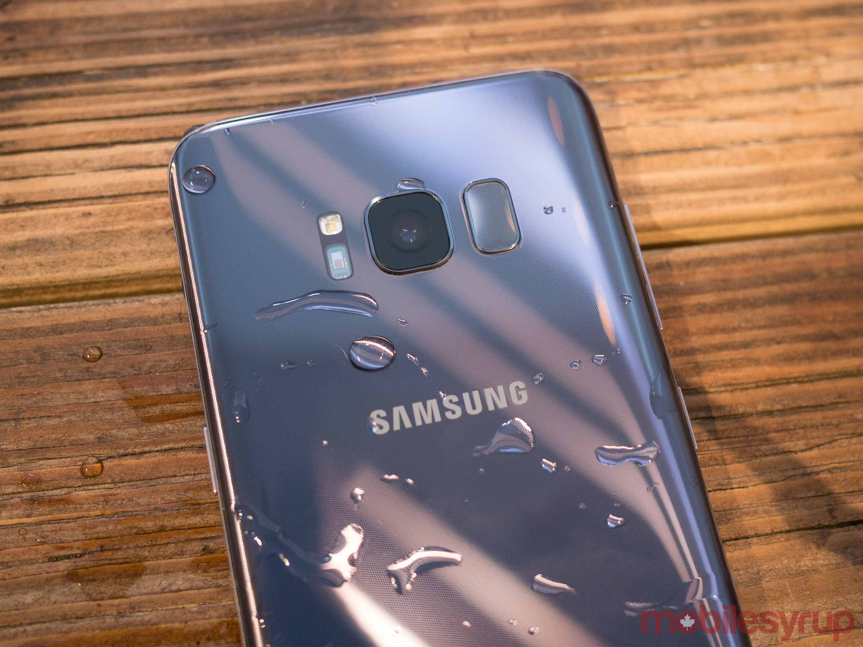 S8 in water