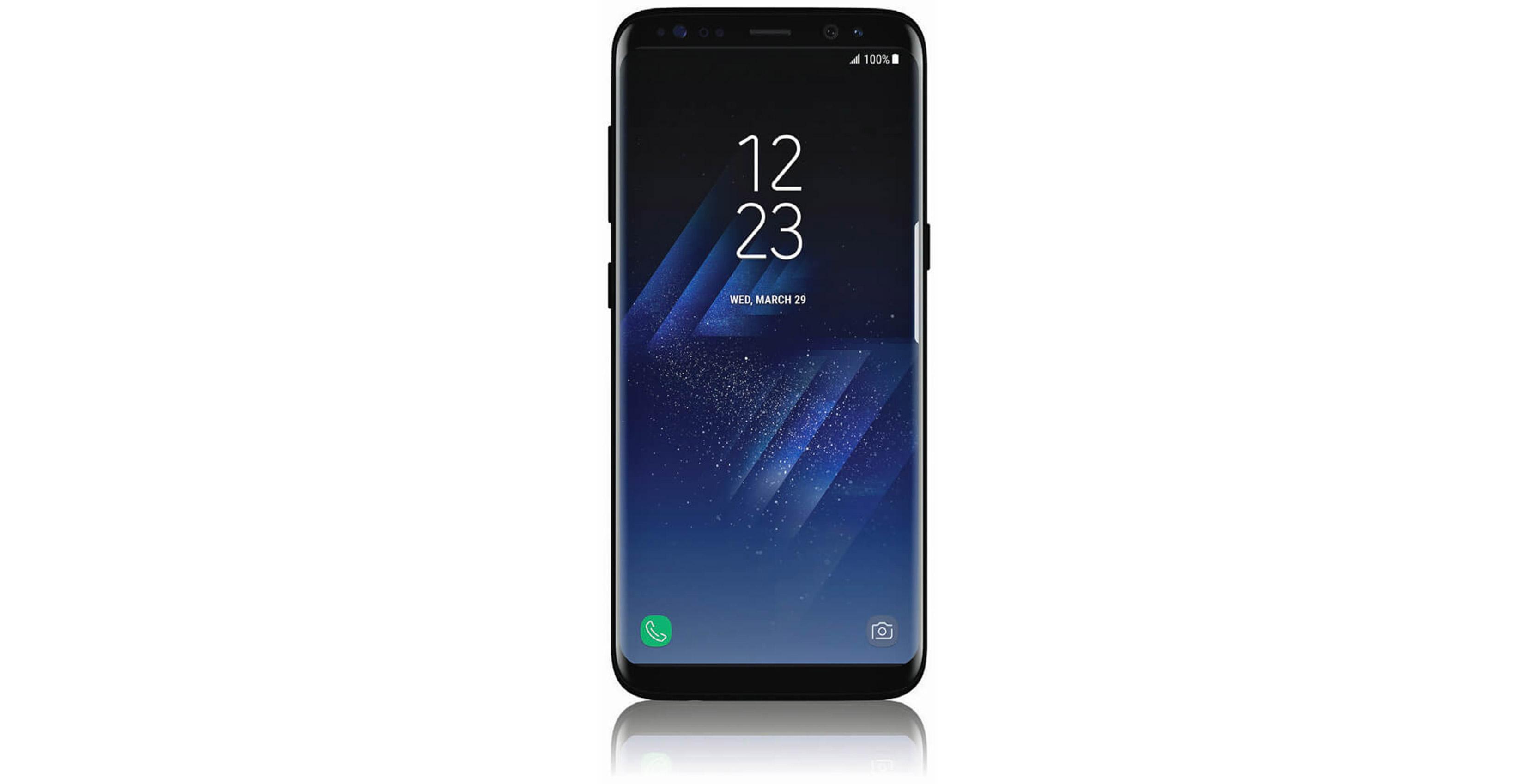 leak of Samsung Galaxy S8 smartphone