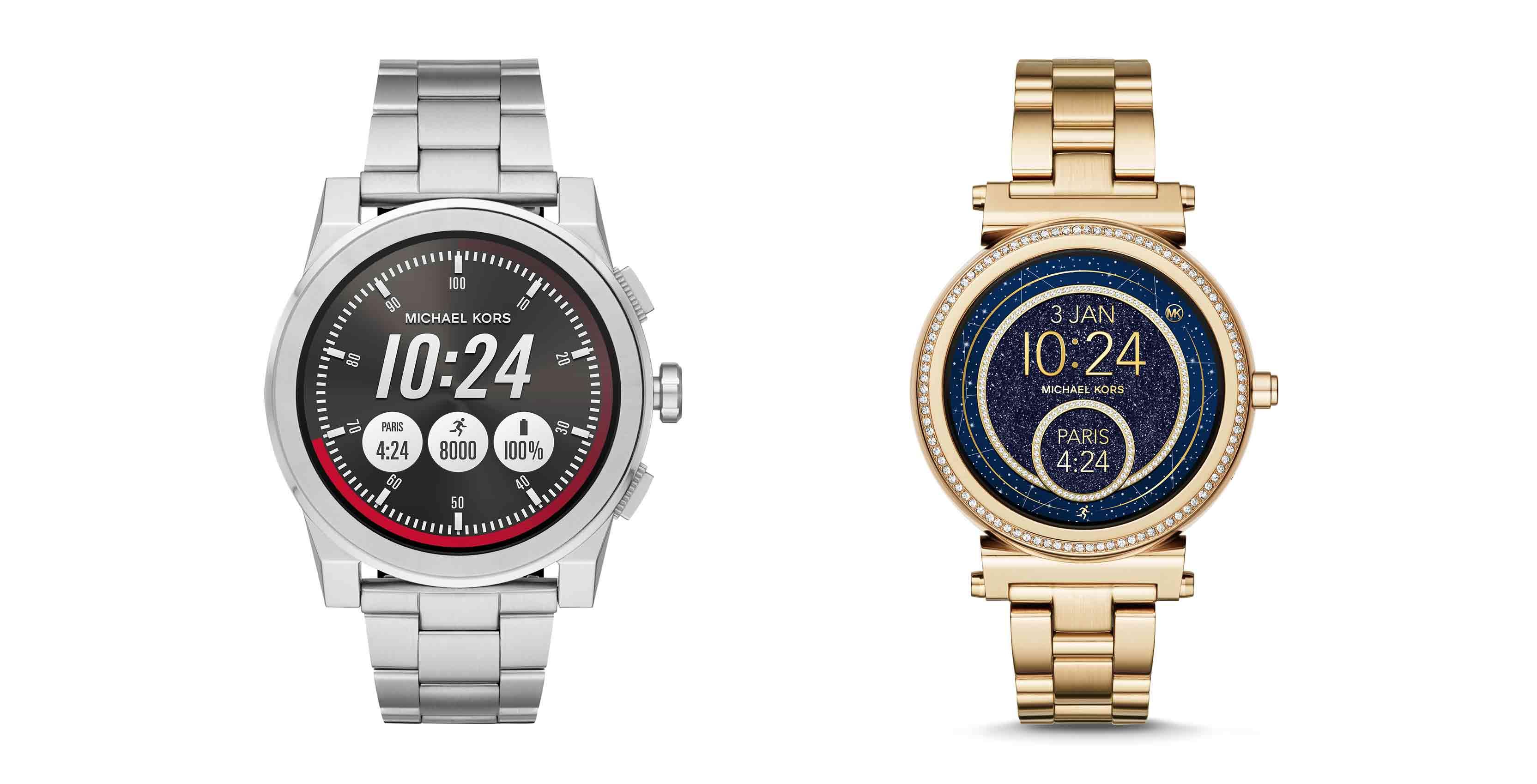 michael kors smartwatches canada