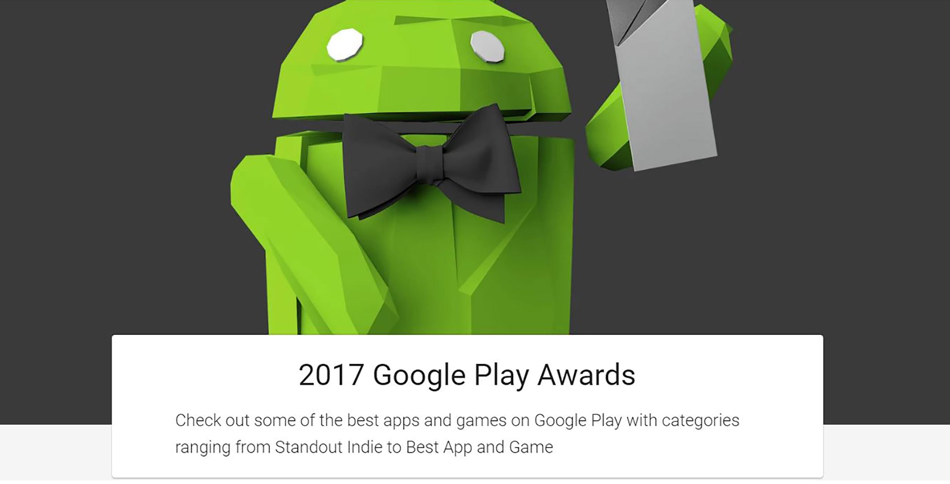 2017 Google Play Award